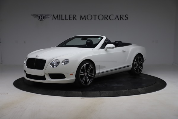 Used 2015 Bentley Continental GTC V8 for sale $119,900 at Rolls-Royce Motor Cars Greenwich in Greenwich CT 06830 2