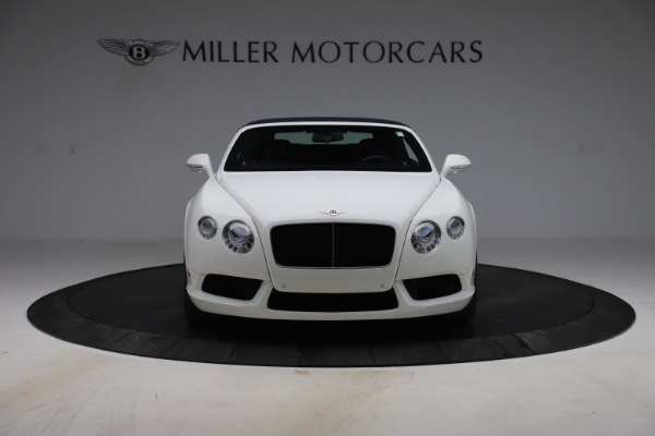 Used 2015 Bentley Continental GTC V8 for sale $119,900 at Rolls-Royce Motor Cars Greenwich in Greenwich CT 06830 20