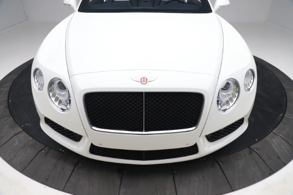 Used 2015 Bentley Continental GTC V8 for sale $119,900 at Rolls-Royce Motor Cars Greenwich in Greenwich CT 06830 21
