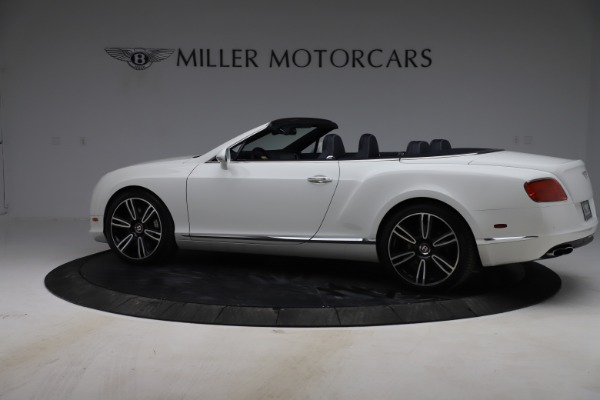 Used 2015 Bentley Continental GTC V8 for sale $119,900 at Rolls-Royce Motor Cars Greenwich in Greenwich CT 06830 4