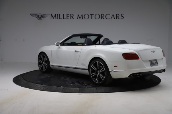 Used 2015 Bentley Continental GTC V8 for sale $119,900 at Rolls-Royce Motor Cars Greenwich in Greenwich CT 06830 5