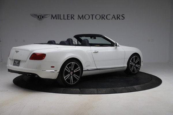 Used 2015 Bentley Continental GTC V8 for sale $119,900 at Rolls-Royce Motor Cars Greenwich in Greenwich CT 06830 8
