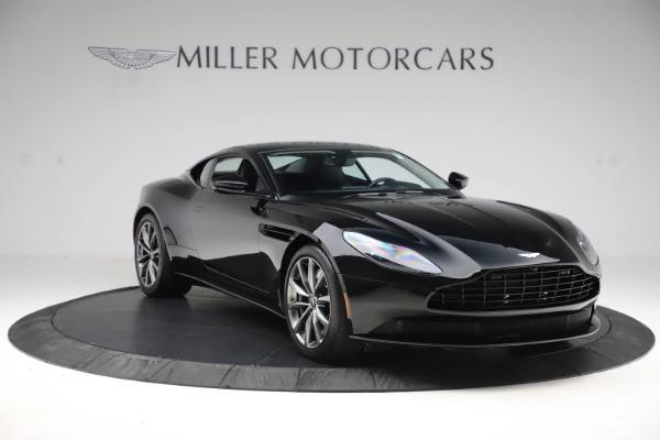 Used 2018 Aston Martin DB11 V8 for sale $145,900 at Rolls-Royce Motor Cars Greenwich in Greenwich CT 06830 10