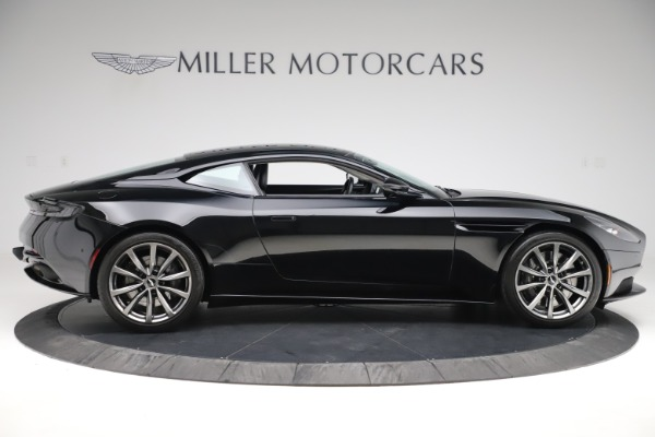Used 2018 Aston Martin DB11 V8 for sale $145,900 at Rolls-Royce Motor Cars Greenwich in Greenwich CT 06830 8