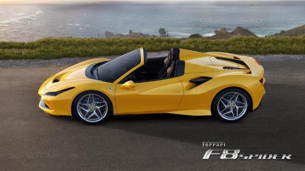New 2020 Ferrari F8 Spider for sale Call for price at Rolls-Royce Motor Cars Greenwich in Greenwich CT 06830 2