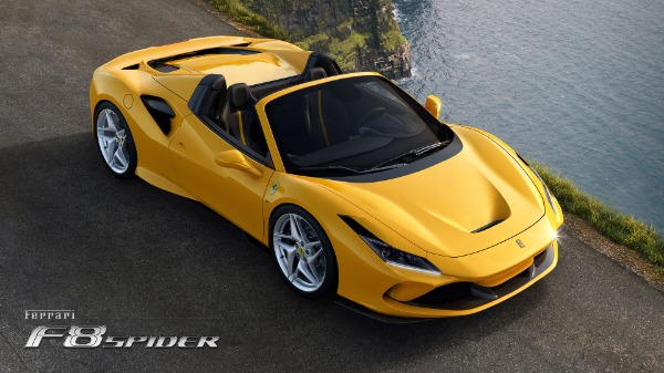 New 2021 Ferrari F8 Spider for sale Call for price at Rolls-Royce Motor Cars Greenwich in Greenwich CT 06830 3
