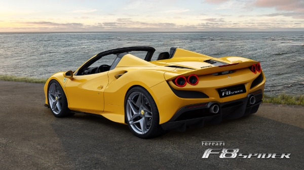New 2021 Ferrari F8 Spider for sale Call for price at Rolls-Royce Motor Cars Greenwich in Greenwich CT 06830 4