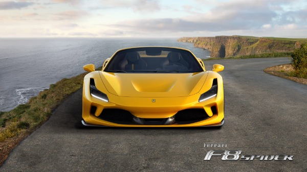 New 2020 Ferrari F8 Spider for sale Call for price at Rolls-Royce Motor Cars Greenwich in Greenwich CT 06830 5