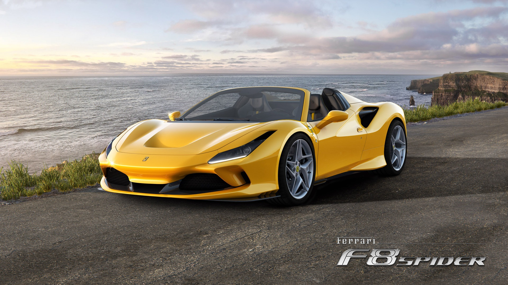 New 2021 Ferrari F8 Spider for sale Call for price at Rolls-Royce Motor Cars Greenwich in Greenwich CT 06830 1