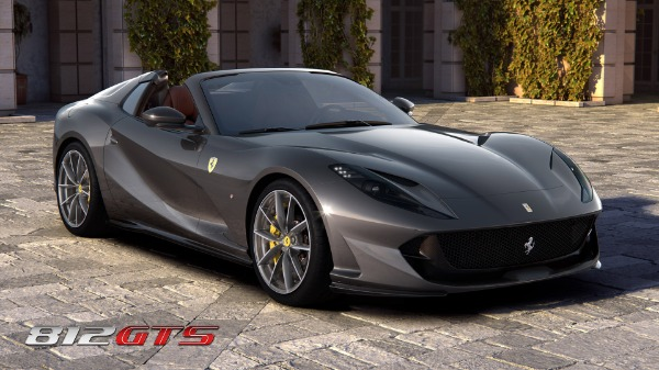 New 2020 Ferrari 812GTS for sale Call for price at Rolls-Royce Motor Cars Greenwich in Greenwich CT 06830 2