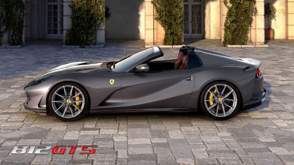 New 2021 Ferrari 812GTS for sale Call for price at Rolls-Royce Motor Cars Greenwich in Greenwich CT 06830 3