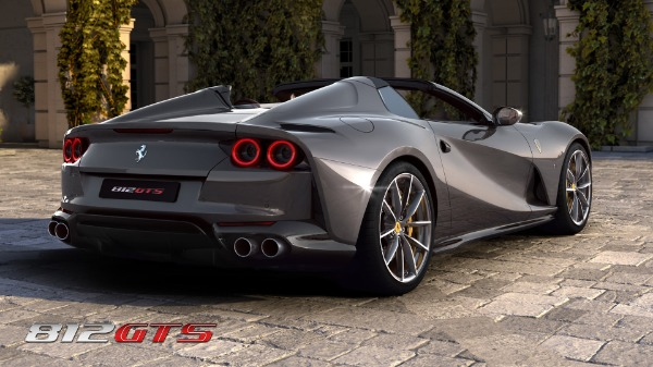 New 2021 Ferrari 812GTS for sale Call for price at Rolls-Royce Motor Cars Greenwich in Greenwich CT 06830 5