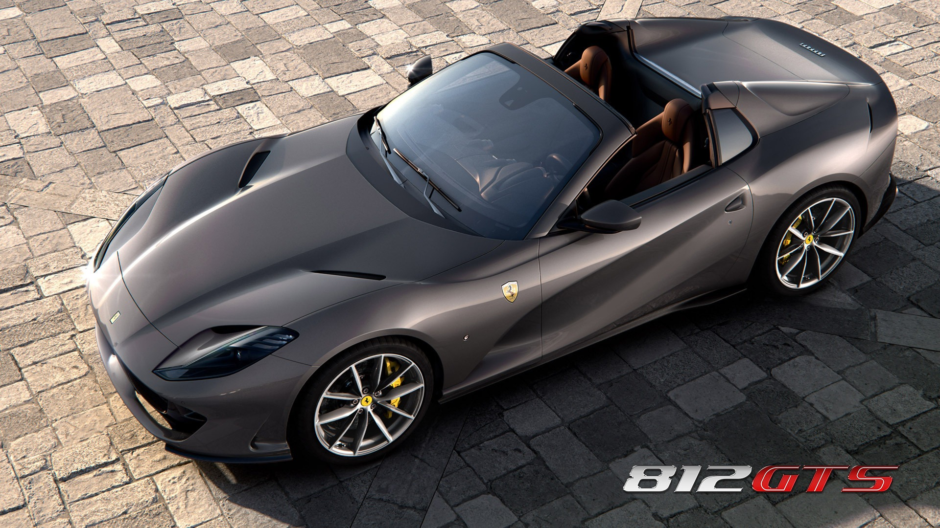 New 2020 Ferrari 812GTS for sale Call for price at Rolls-Royce Motor Cars Greenwich in Greenwich CT 06830 1