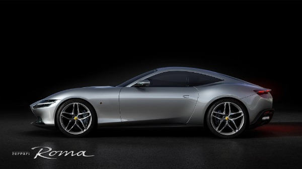 New 2021 Ferrari Roma for sale Call for price at Rolls-Royce Motor Cars Greenwich in Greenwich CT 06830 2