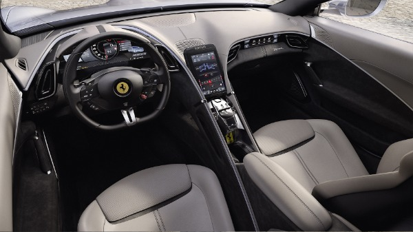 New 2021 Ferrari Roma for sale Call for price at Rolls-Royce Motor Cars Greenwich in Greenwich CT 06830 5