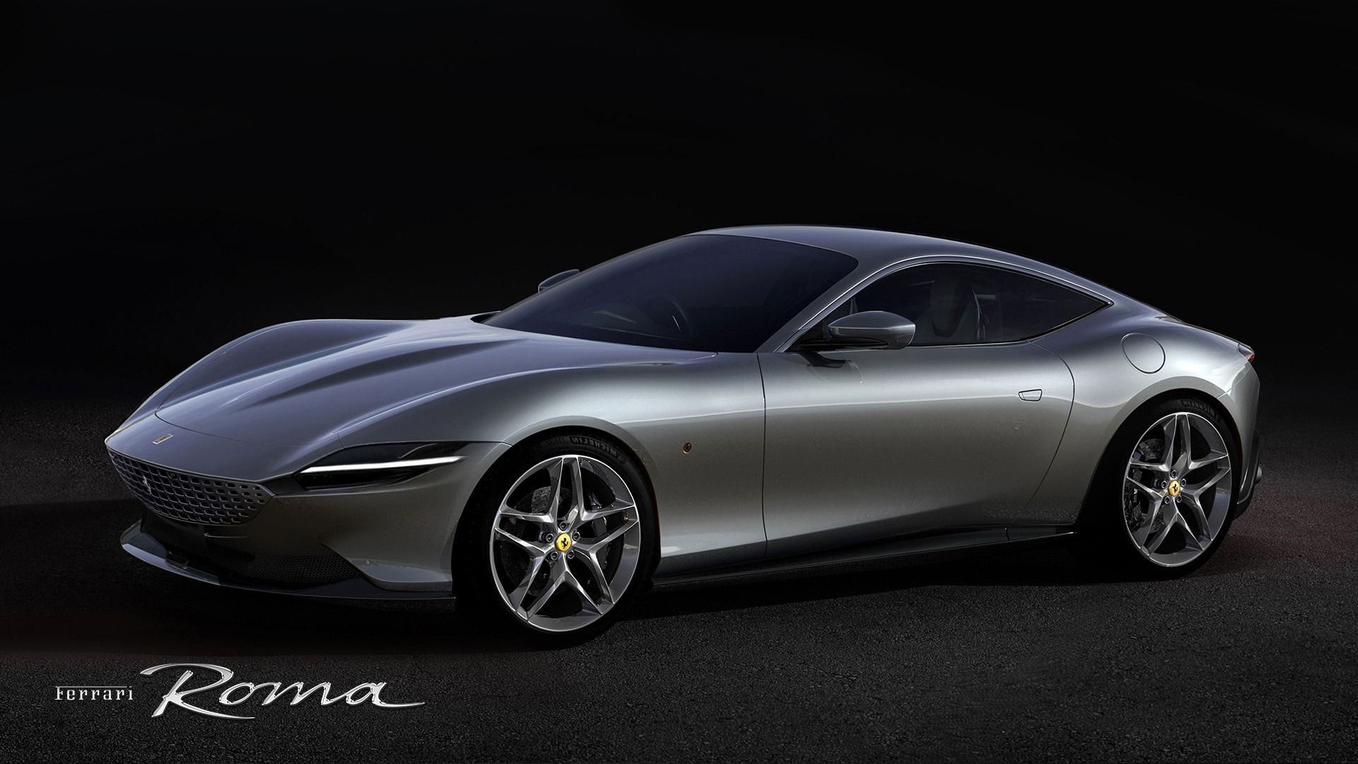 New 2021 Ferrari Roma for sale Call for price at Rolls-Royce Motor Cars Greenwich in Greenwich CT 06830 1