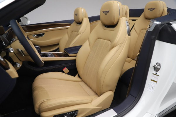 New 2020 Bentley Continental GTC V8 for sale $262,475 at Rolls-Royce Motor Cars Greenwich in Greenwich CT 06830 26