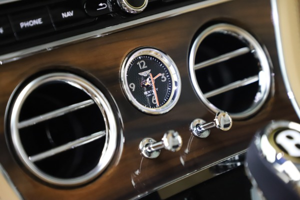 New 2020 Bentley Continental GTC V8 for sale $262,475 at Rolls-Royce Motor Cars Greenwich in Greenwich CT 06830 28