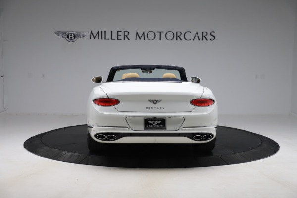 New 2020 Bentley Continental GTC V8 for sale $262,475 at Rolls-Royce Motor Cars Greenwich in Greenwich CT 06830 6