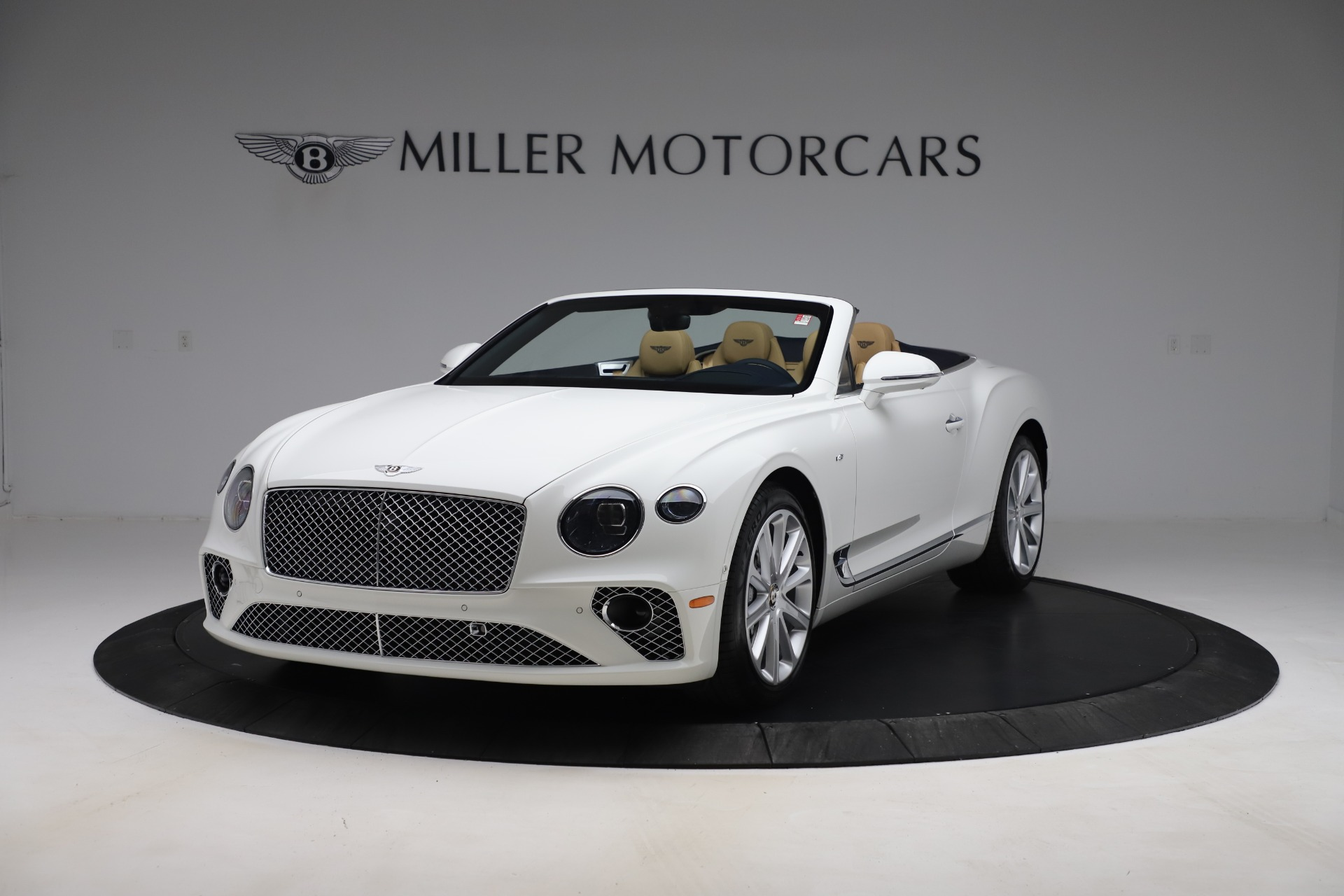 New 2020 Bentley Continental GTC V8 for sale $262,475 at Rolls-Royce Motor Cars Greenwich in Greenwich CT 06830 1