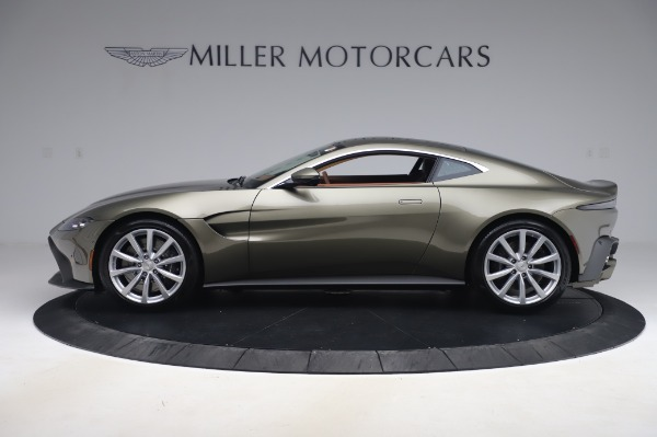 New 2020 Aston Martin Vantage Coupe for sale $180,450 at Rolls-Royce Motor Cars Greenwich in Greenwich CT 06830 2