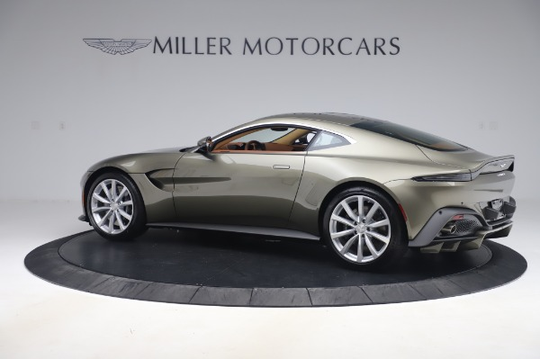 New 2020 Aston Martin Vantage Coupe for sale $180,450 at Rolls-Royce Motor Cars Greenwich in Greenwich CT 06830 3