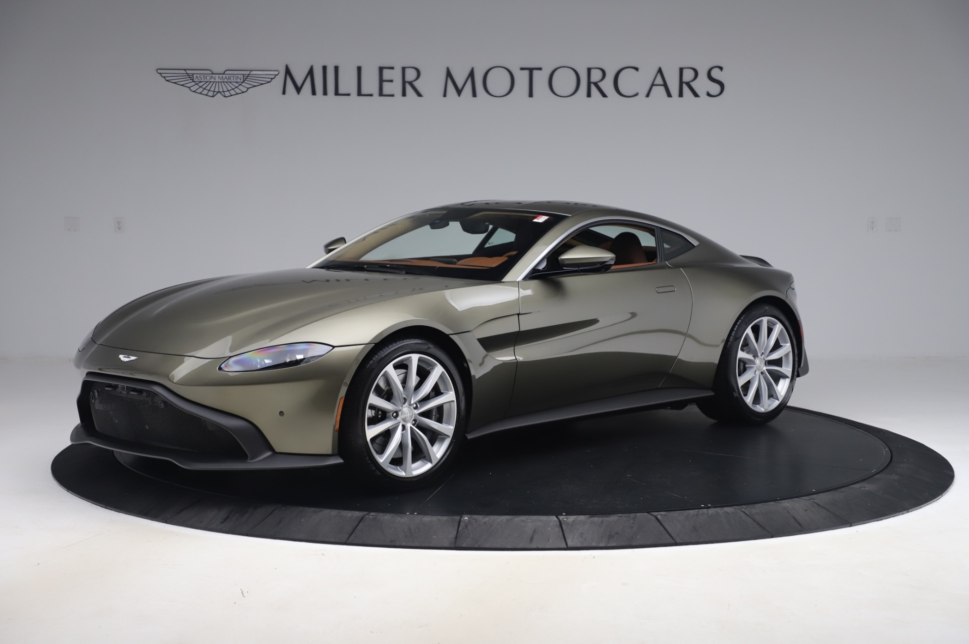 New 2020 Aston Martin Vantage Coupe for sale $180,450 at Rolls-Royce Motor Cars Greenwich in Greenwich CT 06830 1