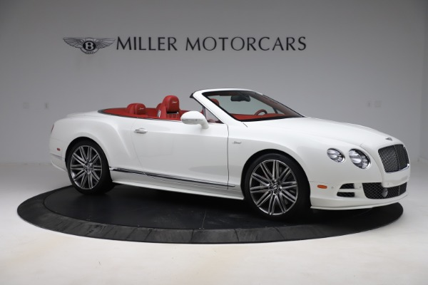 Used 2015 Bentley Continental GTC Speed for sale Call for price at Rolls-Royce Motor Cars Greenwich in Greenwich CT 06830 10