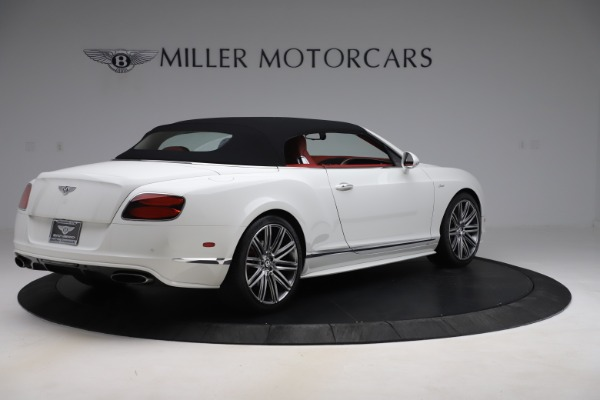 Used 2015 Bentley Continental GTC Speed for sale Call for price at Rolls-Royce Motor Cars Greenwich in Greenwich CT 06830 16