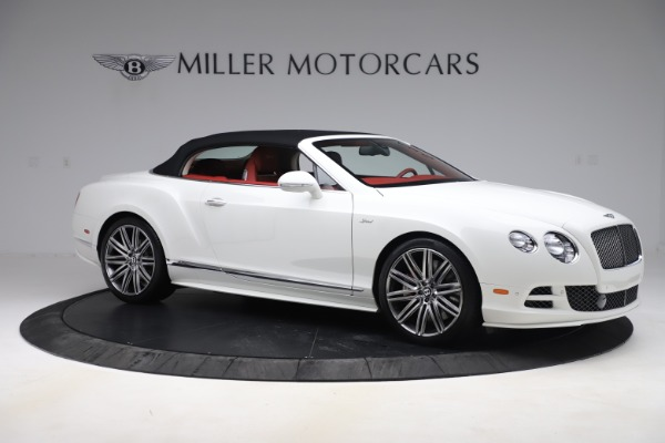 Used 2015 Bentley Continental GTC Speed for sale Call for price at Rolls-Royce Motor Cars Greenwich in Greenwich CT 06830 18