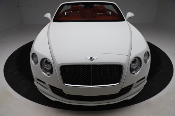 Used 2015 Bentley Continental GTC Speed for sale Call for price at Rolls-Royce Motor Cars Greenwich in Greenwich CT 06830 20