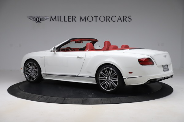 Used 2015 Bentley Continental GTC Speed for sale Call for price at Rolls-Royce Motor Cars Greenwich in Greenwich CT 06830 4