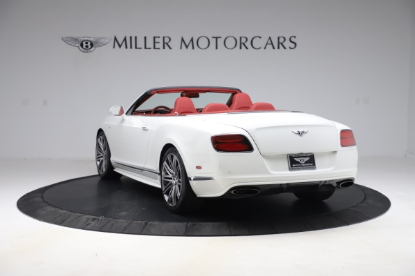 Used 2015 Bentley Continental GTC Speed for sale Call for price at Rolls-Royce Motor Cars Greenwich in Greenwich CT 06830 5