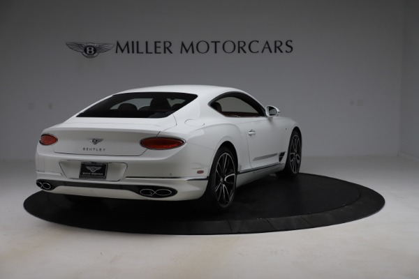 New 2020 Bentley Continental GT V8 for sale $261,360 at Rolls-Royce Motor Cars Greenwich in Greenwich CT 06830 10