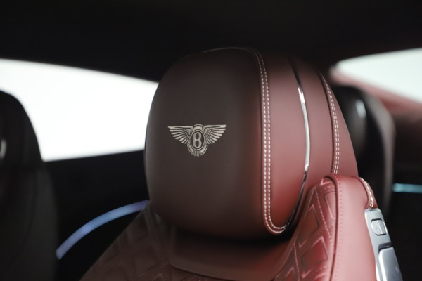 New 2020 Bentley Continental GT V8 for sale $261,360 at Rolls-Royce Motor Cars Greenwich in Greenwich CT 06830 24