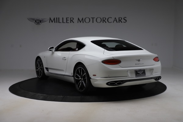 New 2020 Bentley Continental GT V8 for sale $261,360 at Rolls-Royce Motor Cars Greenwich in Greenwich CT 06830 6
