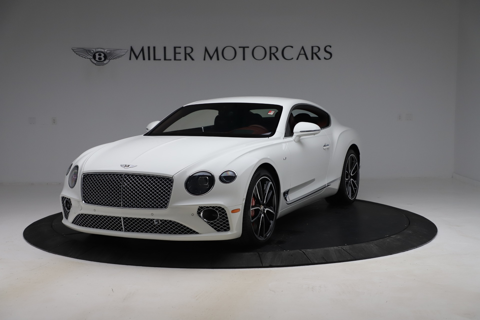 New 2020 Bentley Continental GT V8 for sale $261,360 at Rolls-Royce Motor Cars Greenwich in Greenwich CT 06830 1