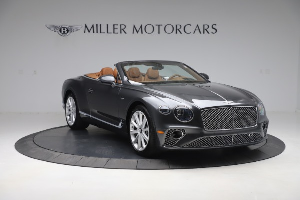 New 2020 Bentley Continental GTC V8 for sale $266,665 at Rolls-Royce Motor Cars Greenwich in Greenwich CT 06830 11
