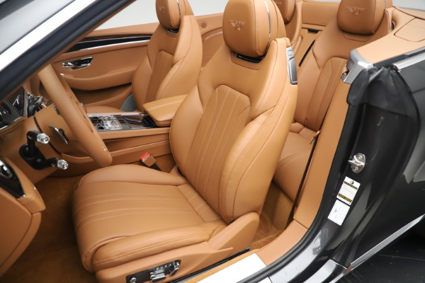 New 2020 Bentley Continental GTC V8 for sale $266,665 at Rolls-Royce Motor Cars Greenwich in Greenwich CT 06830 27