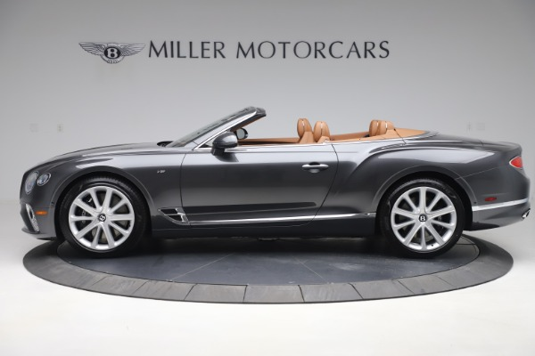 New 2020 Bentley Continental GTC V8 for sale $266,665 at Rolls-Royce Motor Cars Greenwich in Greenwich CT 06830 3
