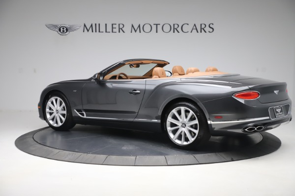 New 2020 Bentley Continental GTC V8 for sale $266,665 at Rolls-Royce Motor Cars Greenwich in Greenwich CT 06830 4