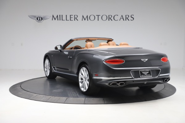 New 2020 Bentley Continental GTC V8 for sale $266,665 at Rolls-Royce Motor Cars Greenwich in Greenwich CT 06830 5