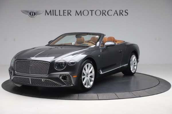 New 2020 Bentley Continental GTC V8 for sale $266,665 at Rolls-Royce Motor Cars Greenwich in Greenwich CT 06830 1
