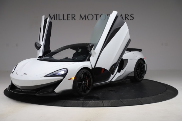 Used 2019 McLaren 600LT Coupe for sale $219,900 at Rolls-Royce Motor Cars Greenwich in Greenwich CT 06830 10