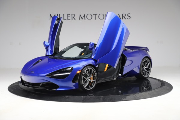 New 2020 McLaren 720S Spider Convertible for sale $364,090 at Rolls-Royce Motor Cars Greenwich in Greenwich CT 06830 10