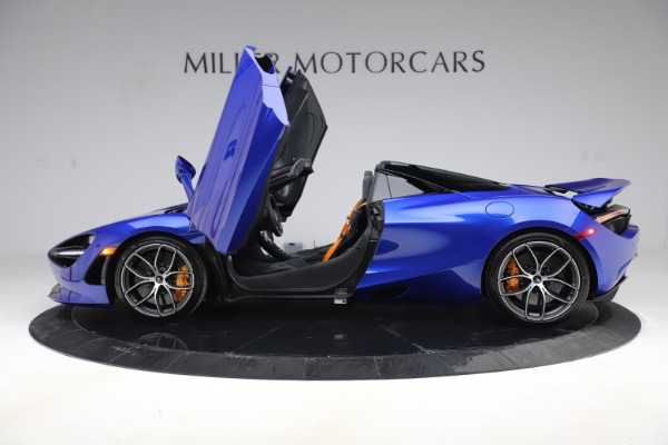 New 2020 McLaren 720S Spider for sale Call for price at Rolls-Royce Motor Cars Greenwich in Greenwich CT 06830 11