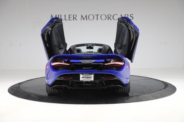 New 2020 McLaren 720S Spider Convertible for sale $364,090 at Rolls-Royce Motor Cars Greenwich in Greenwich CT 06830 13