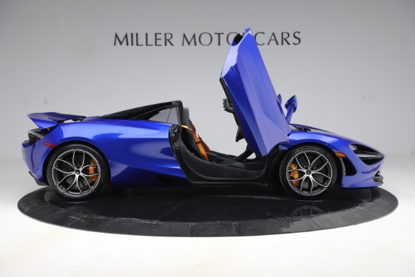 New 2020 McLaren 720S Spider for sale Call for price at Rolls-Royce Motor Cars Greenwich in Greenwich CT 06830 15