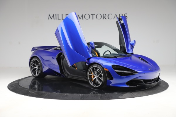 New 2020 McLaren 720S Spider for sale Call for price at Rolls-Royce Motor Cars Greenwich in Greenwich CT 06830 16