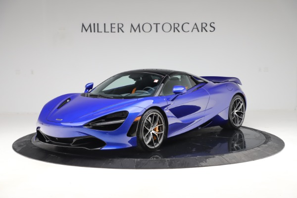 New 2020 McLaren 720S Spider for sale Call for price at Rolls-Royce Motor Cars Greenwich in Greenwich CT 06830 18